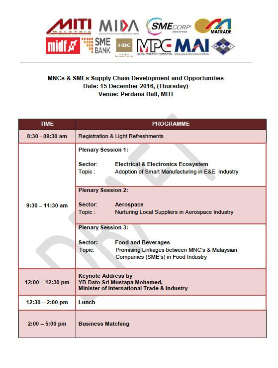 SME Corporation Malaysia - Multi-National Companies (MNCs