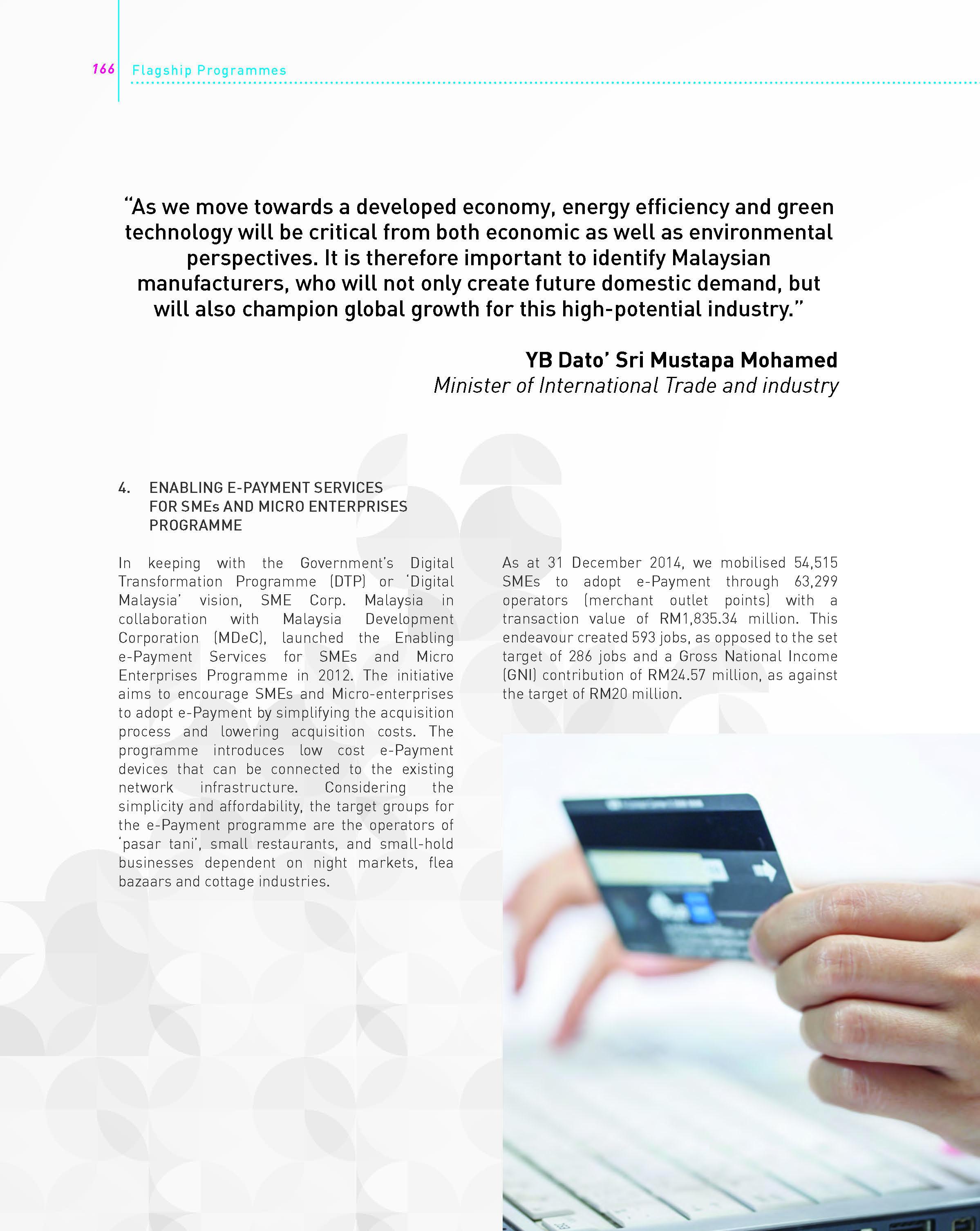 SME Corporation Malaysia - SME Corp  Malaysia Annual Reports
