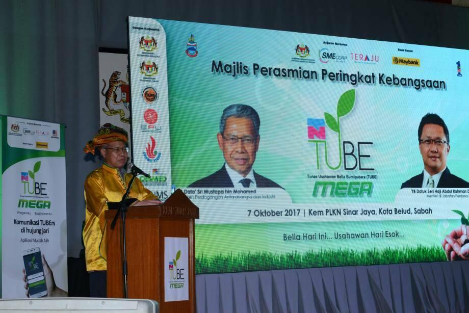 SME Corporation Malaysia - Majlis Perasmian TUBE MEGA 2017